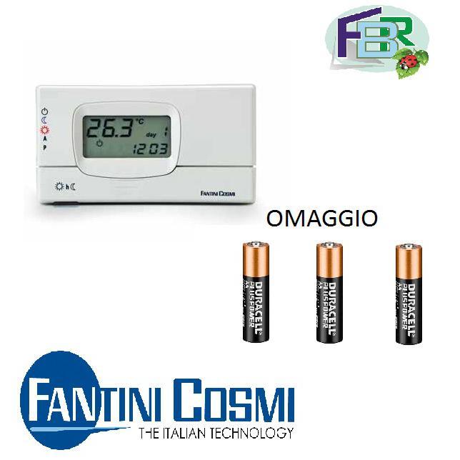 3s termostato ambiente settimanale c31 fantini e cosmi