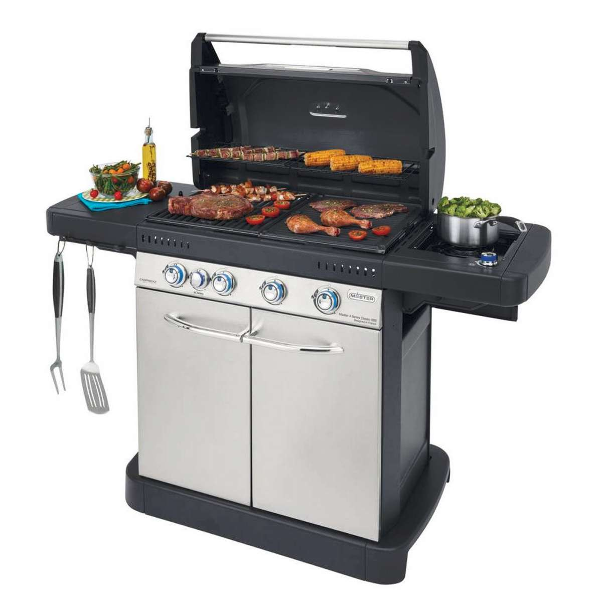 BARBECUE A GAS Campingaz Master 4 series Classic Sbs DUAL METANO/GPL