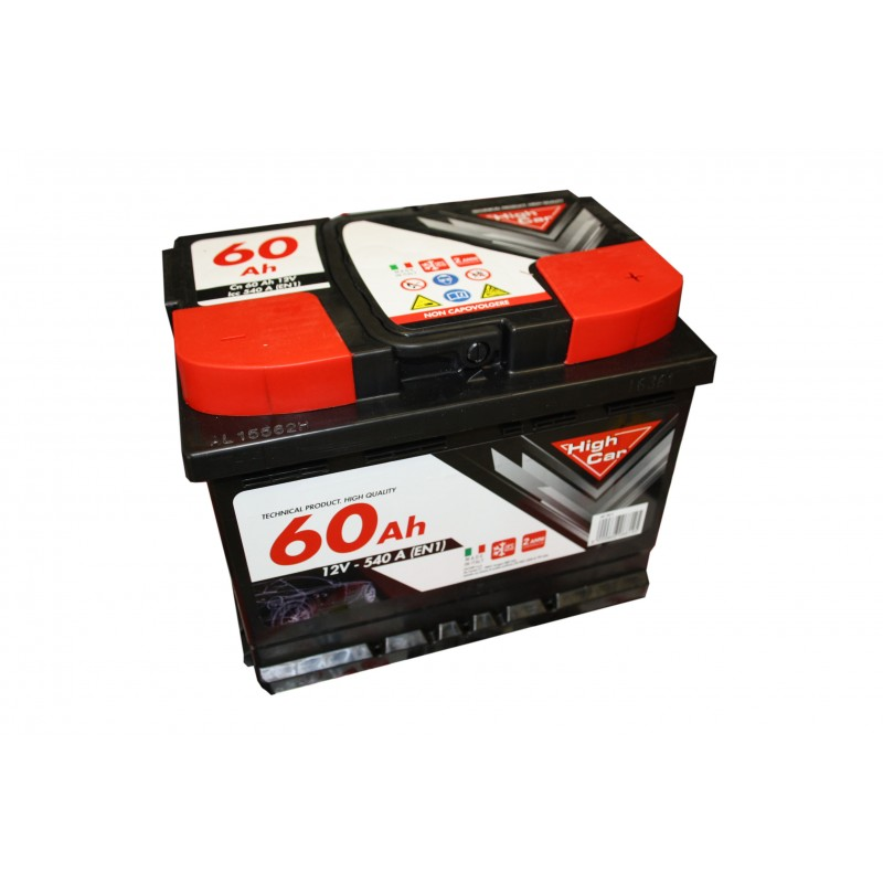 BATTERIA PER AUTO 60AH - HIGH CAR