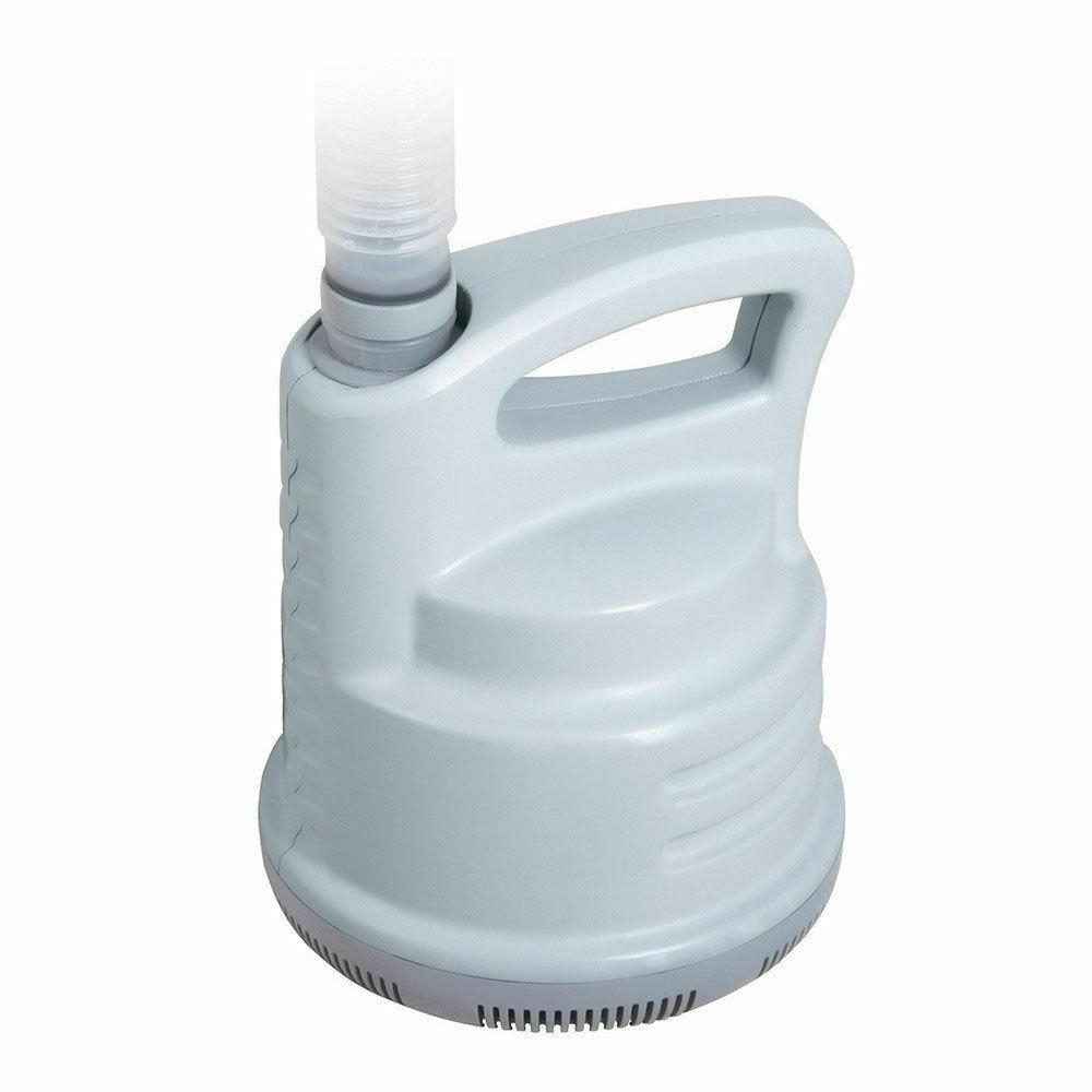 Bestway pompa drenaggio aspirazione svuotamento manutenzione acqua piscina 58230