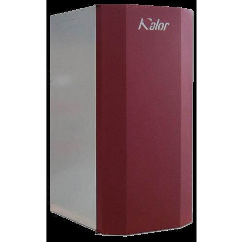 Caldaia idro a pellet Kalor 28 kw per riscaldamento radiatori hydro