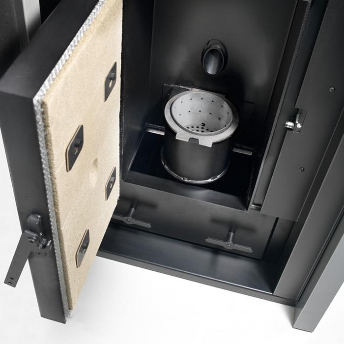 Caminetti Montegrappa AKTIV 35 kW caldaia a pellet