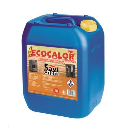 Combustibile Liquido Per Stufe ECOCALOR PIU' LT.18 Inodore  Savichem