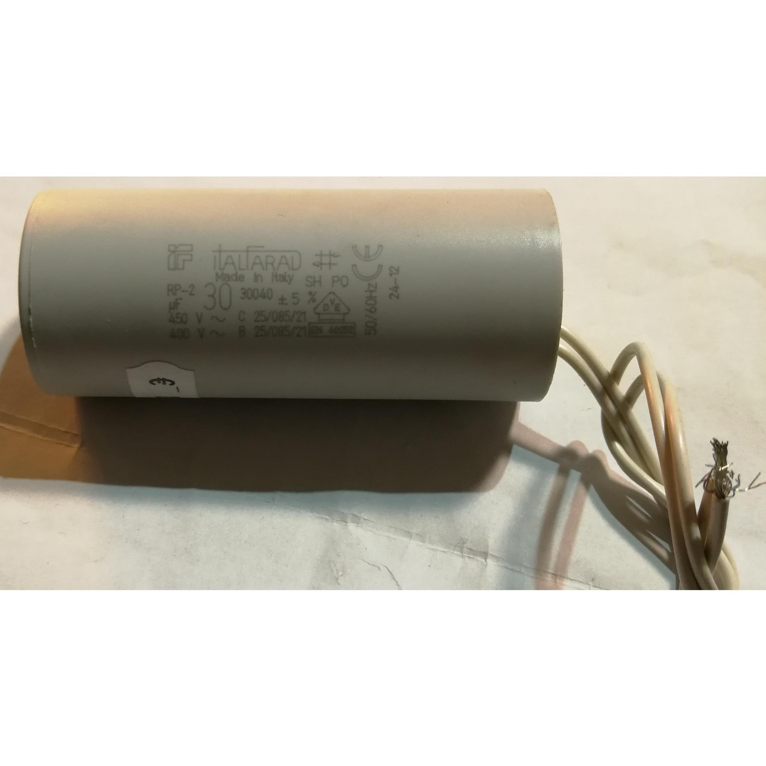 Condensatore elettrodomestici vari 30 μF ITALFARAD