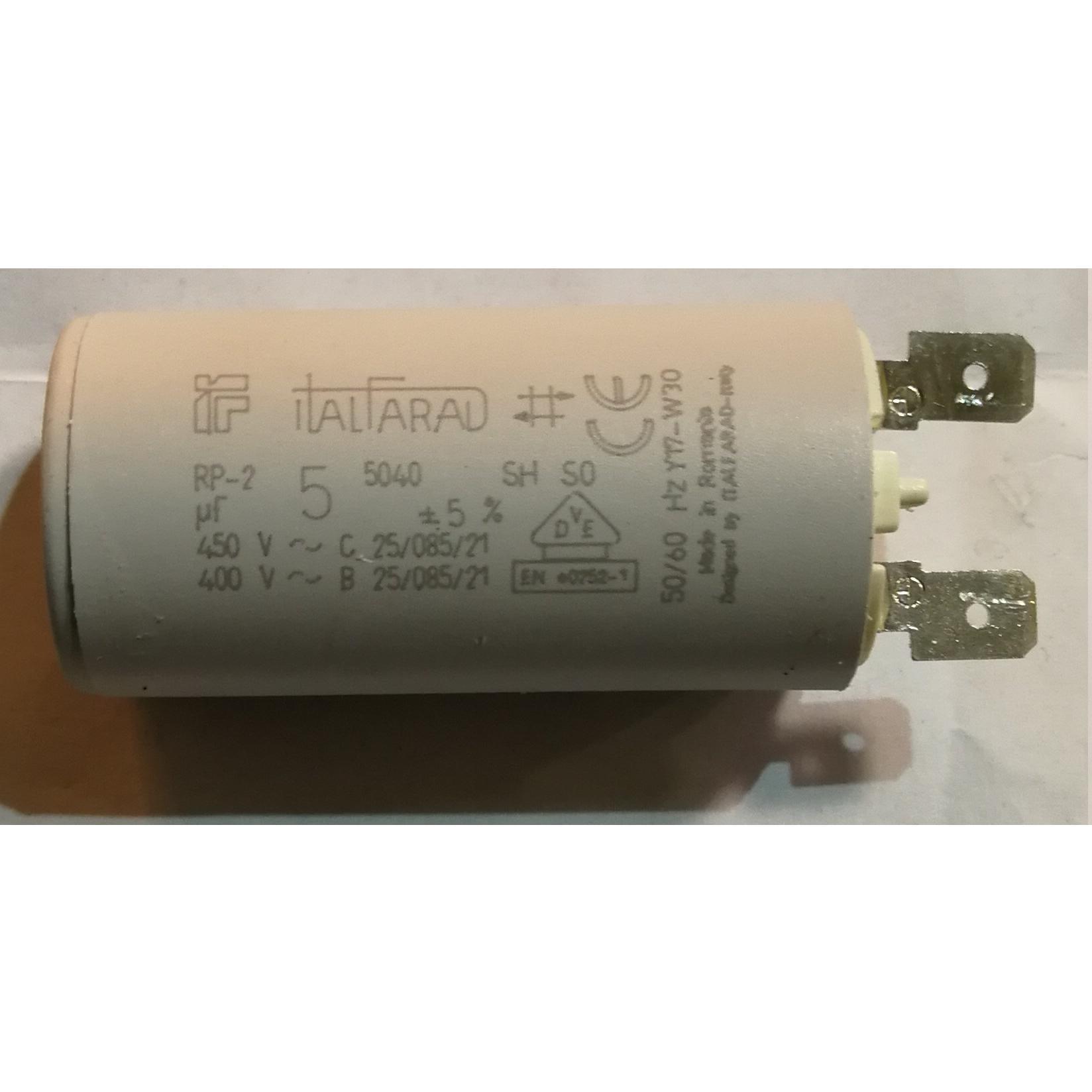 Condensatore elettrodomestici vari 5 μF ITALFARAD