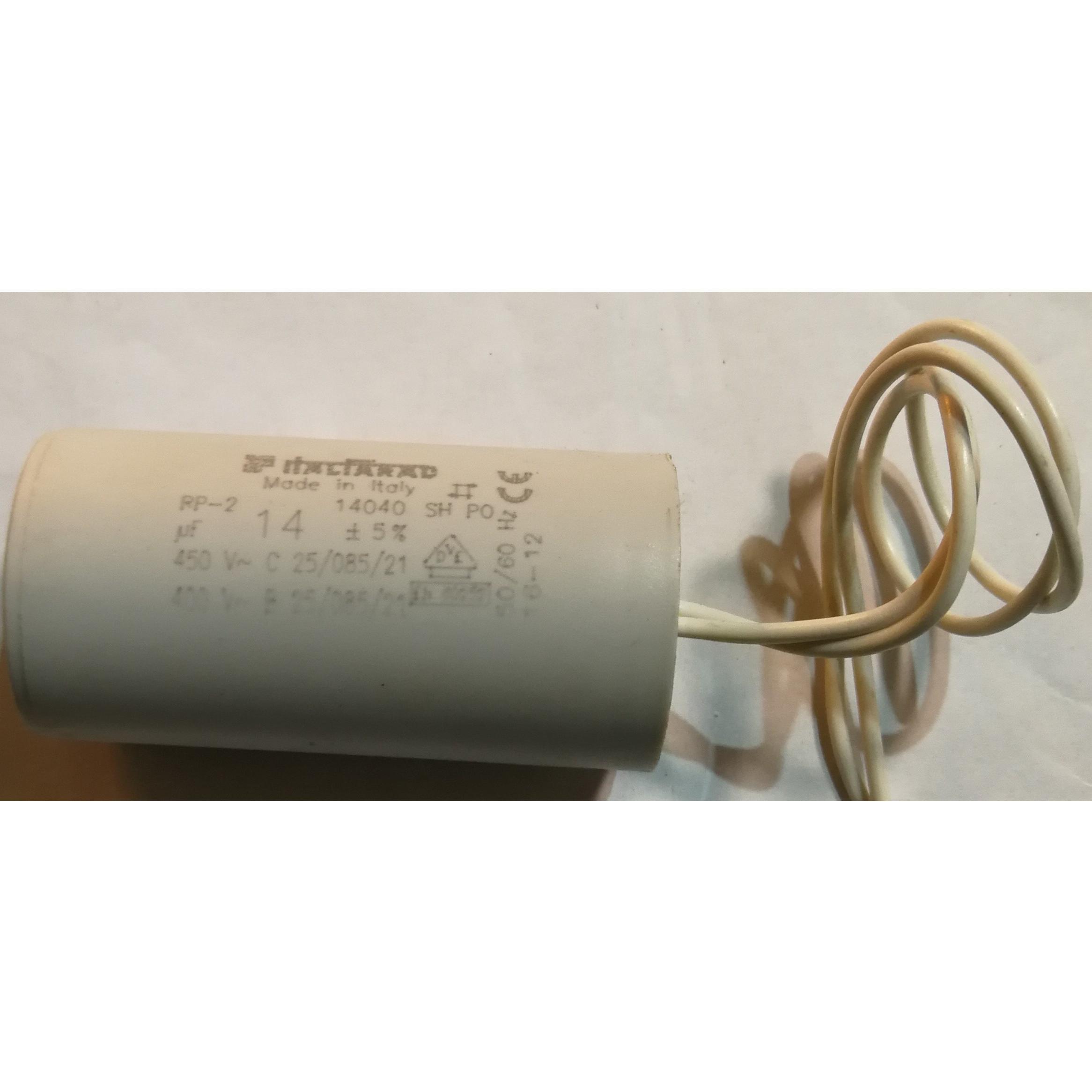 Condensatore elettrodomestici vari 14 μF ITALFARAD