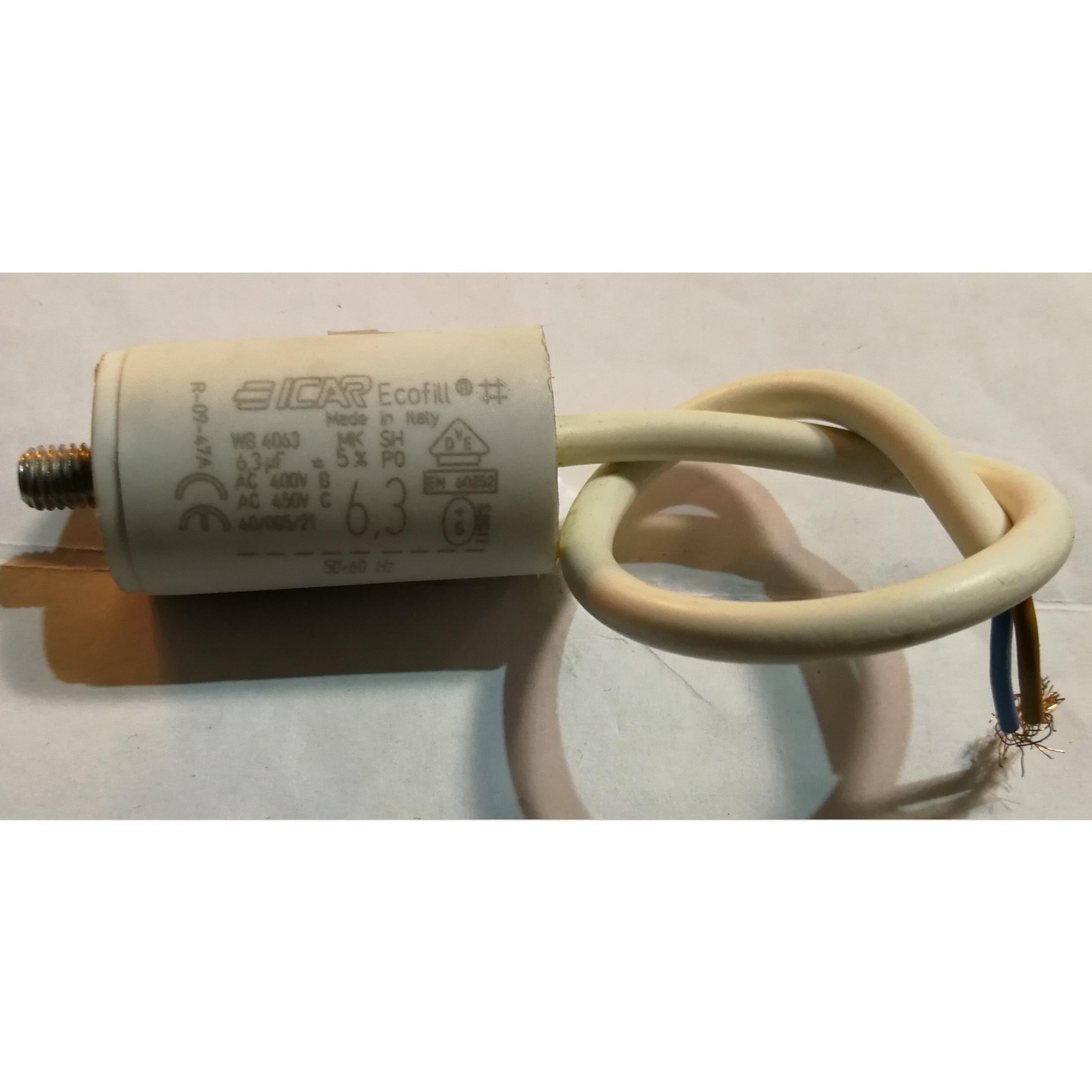 Condensatore elettrodomestici vari 6.3 μF ITALFARAD