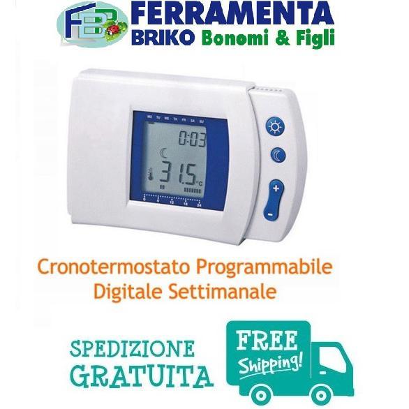 Cronotermostato Termostato Digitale Programmabile Settimale MKC