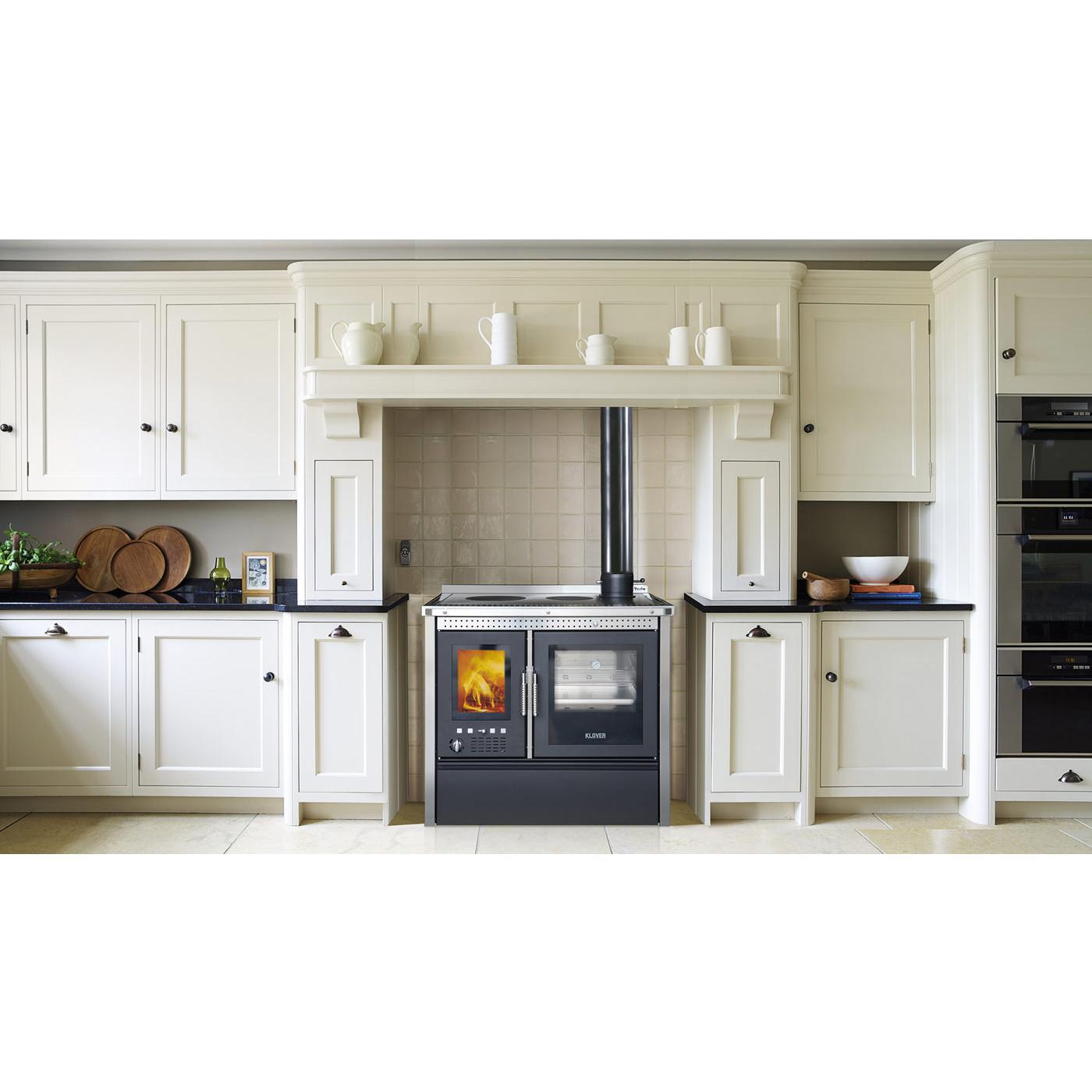 Cucina a Legna Klover VESTA INOX 13,8 kW