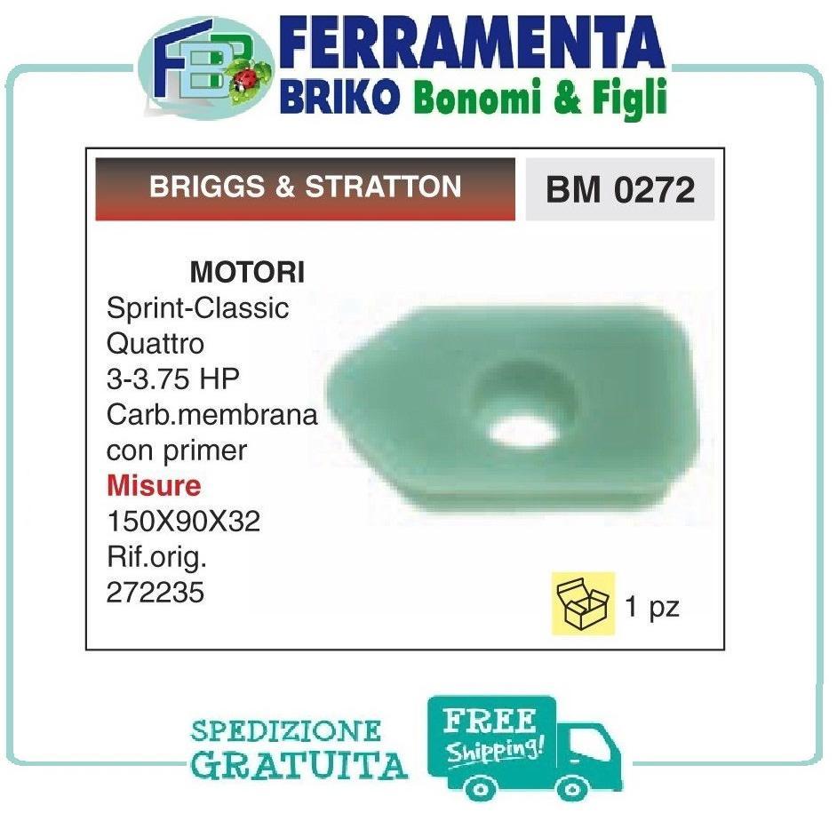 FILTRO ARIA SPUGNA PER MOTORI BRIGGS &STRATTON Ricambio Compatibile