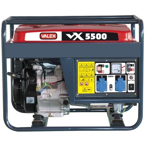 Generatore di corrente VALEX VX 5500 A 4 TEMPI