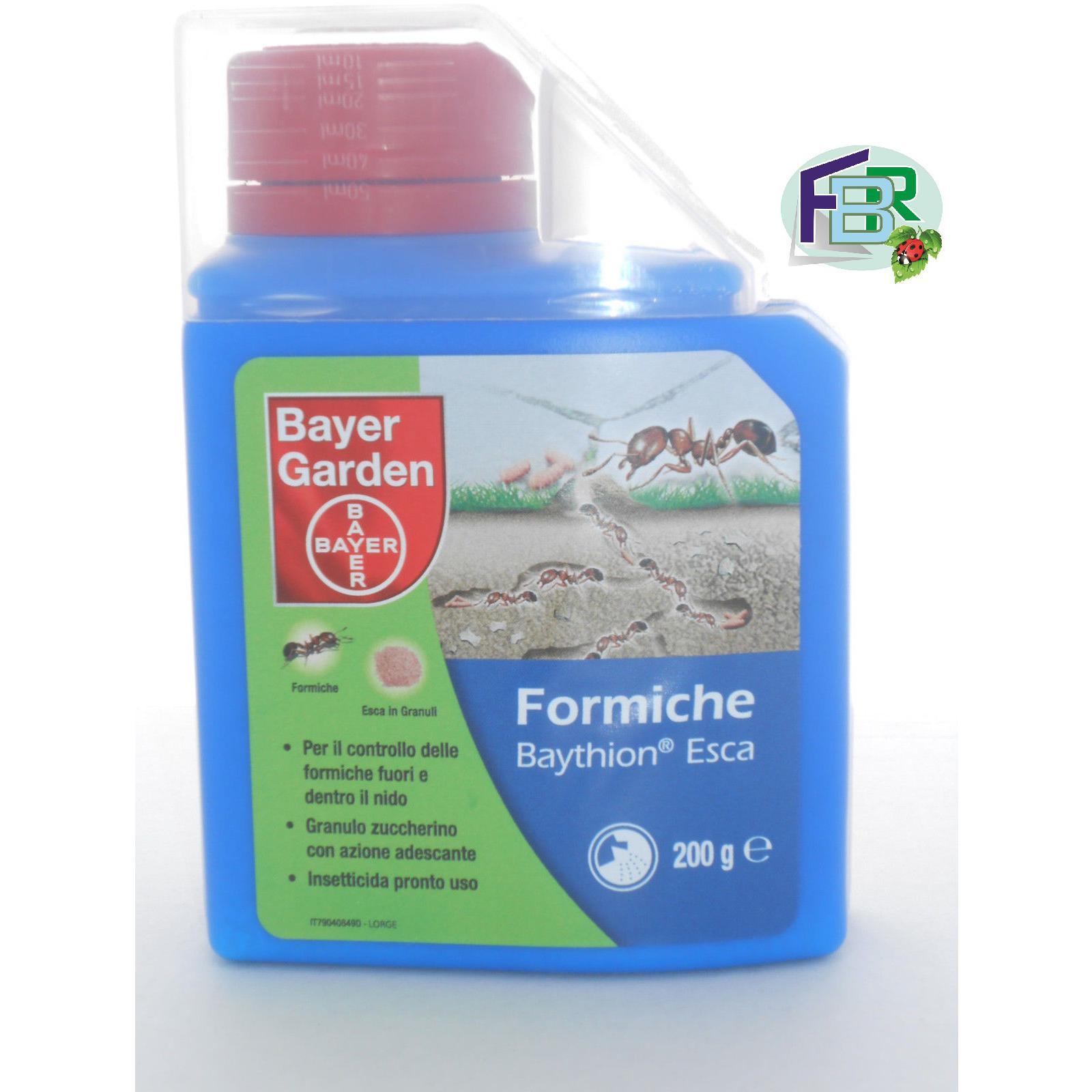 Insetticida granulare antiformiche Bayer Baythion trappola esca formiche gr 200