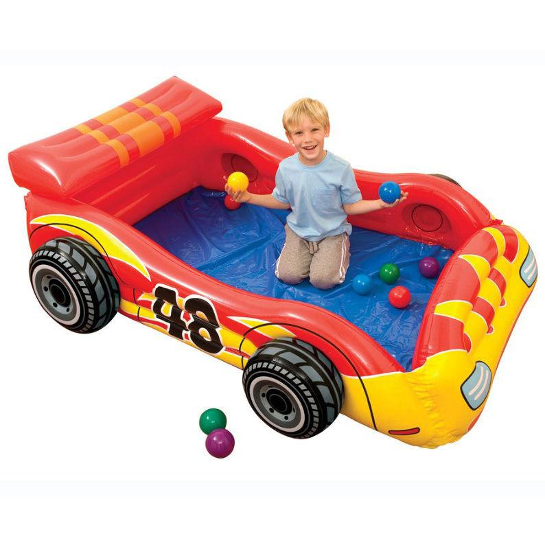 Intex sfera Toyz Speed Racer aria letto gonfiabile del giocattolo della vettura da corsa Piscina bambini
