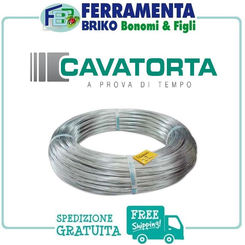 kg 20 - FILO ZINCATO CAVATORTA N° 3