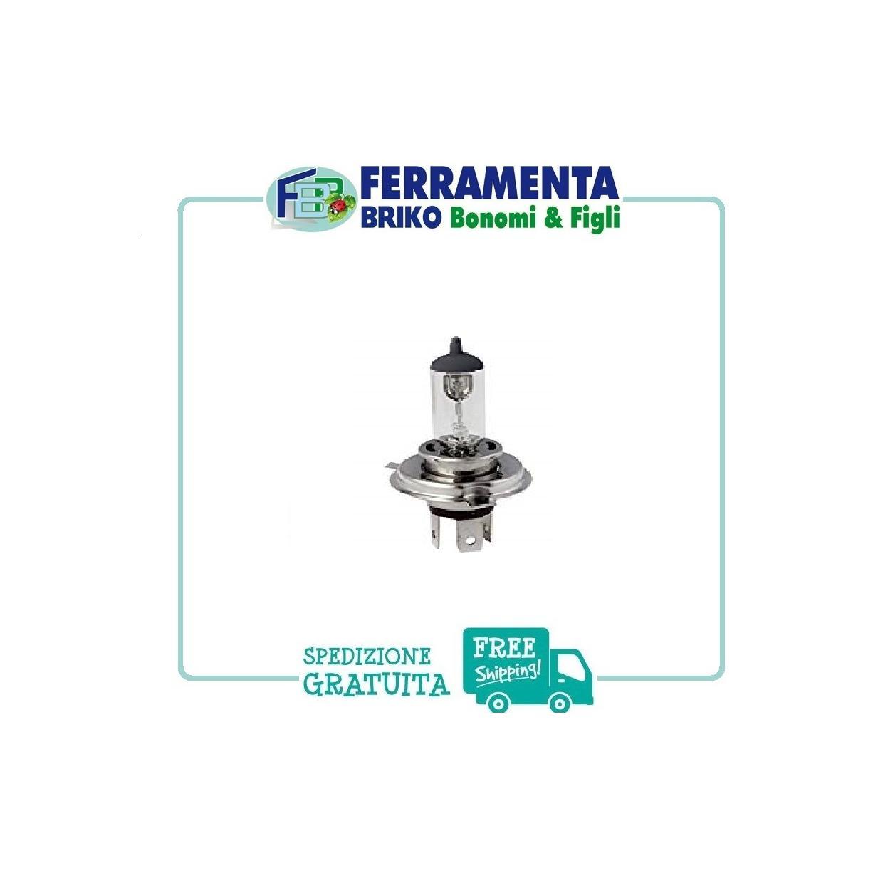 Lampadina Alogena Prime Lux h5 12v 60/55w anabbaglianti e abbaglianti START