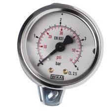 Manometro attuatore posteriore diametro 50mm 1/4 0-6 BAR