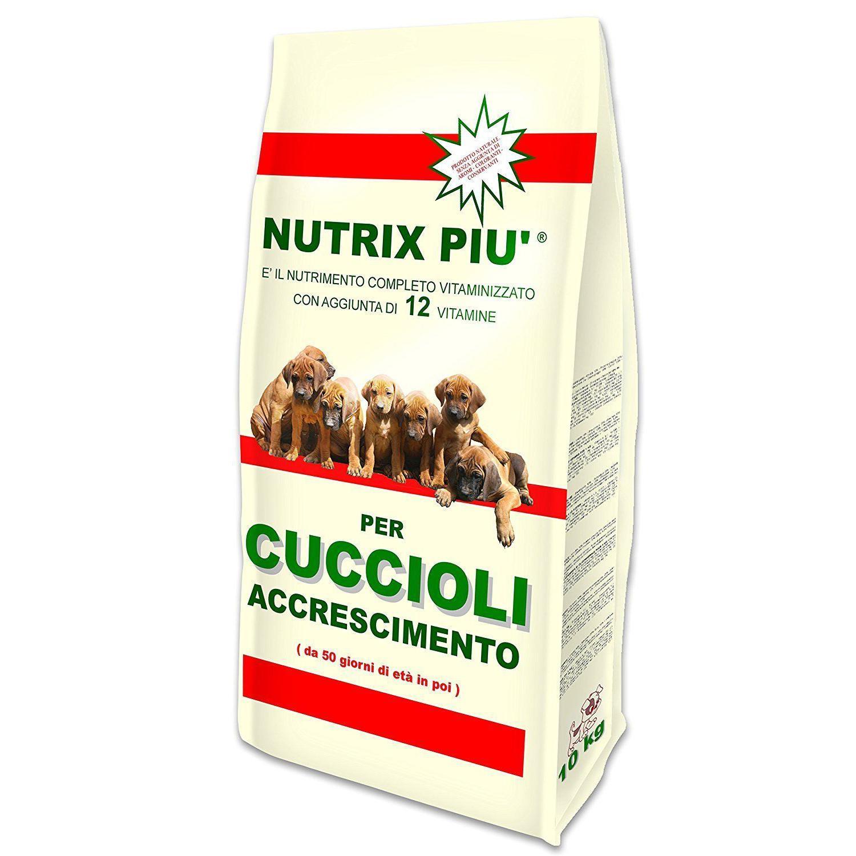 Nutrix Più Crocchette Secche Cuccioli Accrescimento 10kg