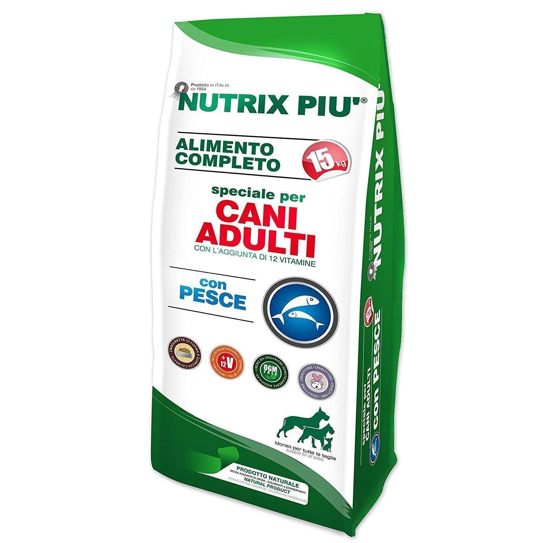 Nutrix Più Crocchette Secche Taglia Media - 10 kg