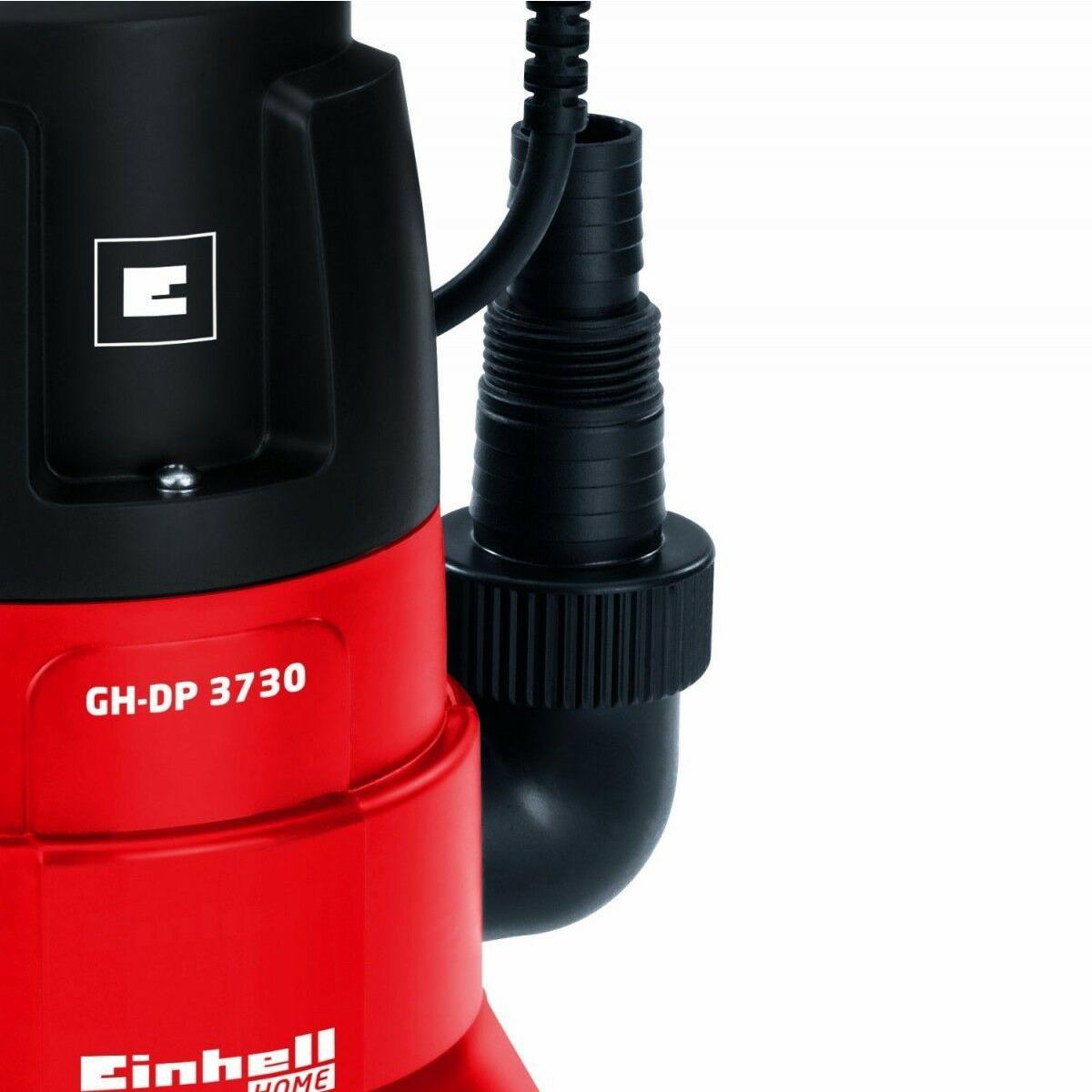 elettropompa da 370 W Pompa sommersa elettrica acque scure Einhell GH-DP 3730