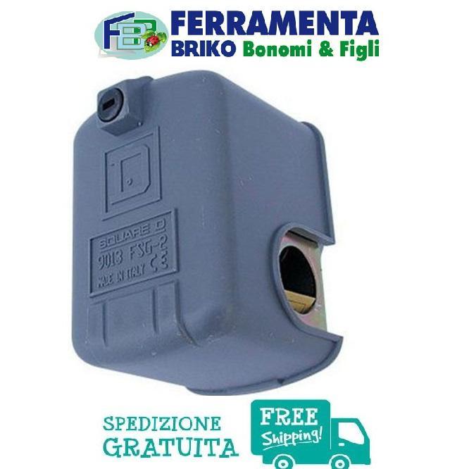 PRESSOSTATO AUTOCLAVE SQUARE D FSG-2 9013 REGOLABILE