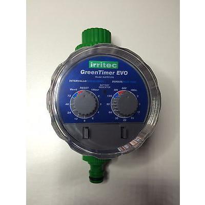 Programmatore a batteria Green Timer EVO att. rubinetto 3/4