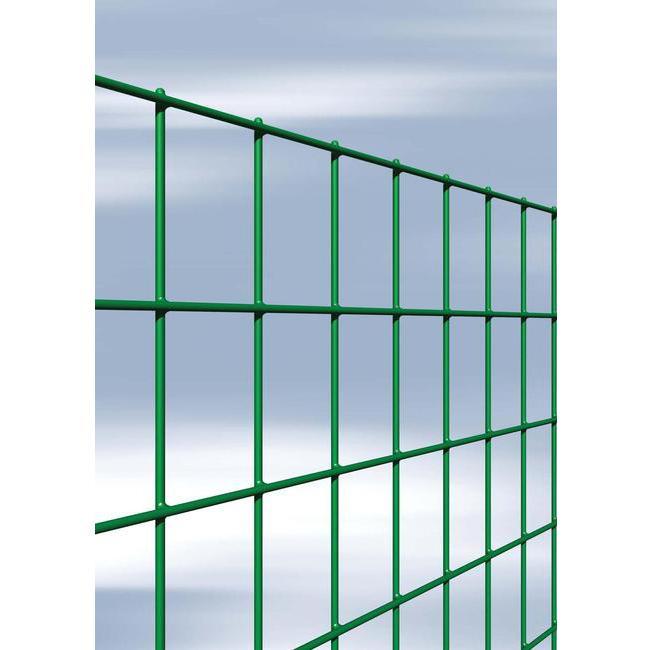 Rete CAVATORTA zincata, elettrosaldata, plastificata verde 75 x 50 H.180 Rotolo da 25 mt MARGHERITA
