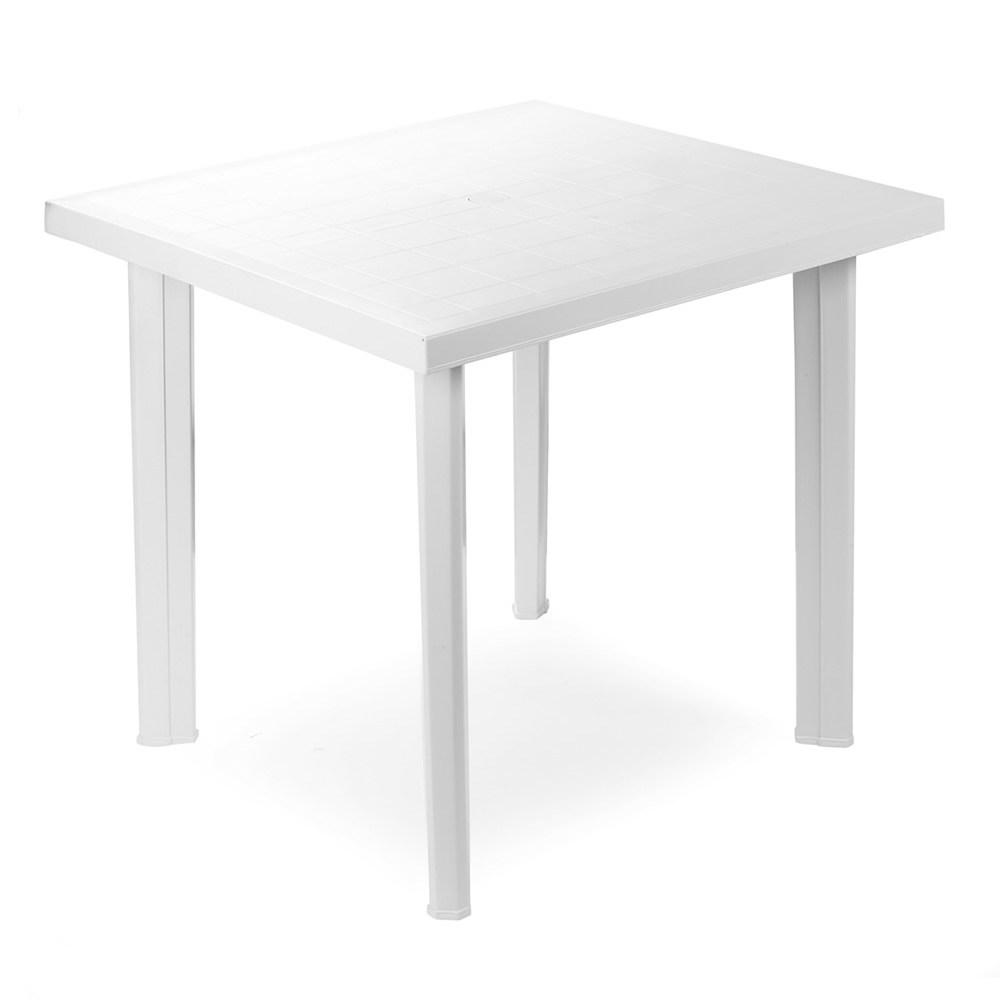 Tavolo In Resina 80 x 75 x 6 cm