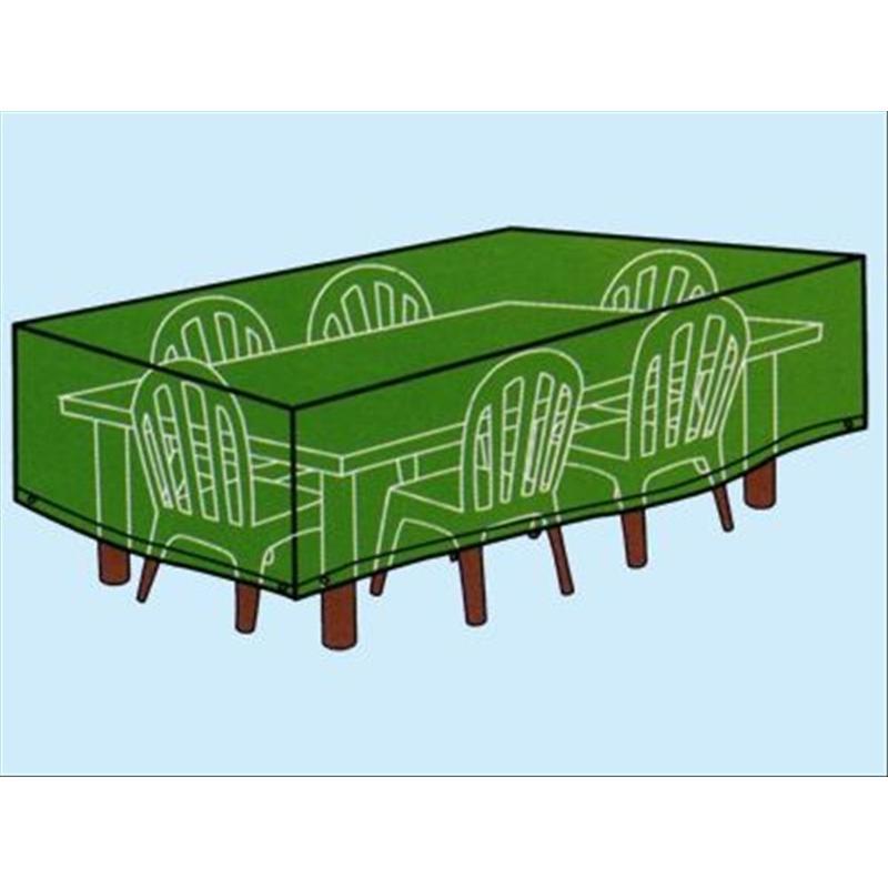 Teli Cover per tavoli rettangolari con sedie 180x270xH90 cm.