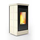 Termostufa A Pellet Caminetti Montegrappa COUNTRY XW LW 7 - 9 - 12 - 15 - 20 kW per riscaldare l'acqua