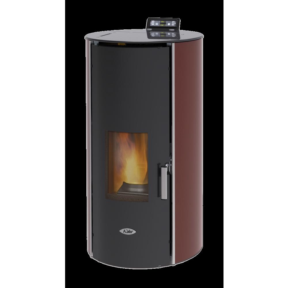 Termostufa a pellet Kalor Glass 17 IDRO